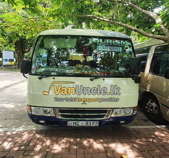 Staff Transport from Makubura to Nawammawatha