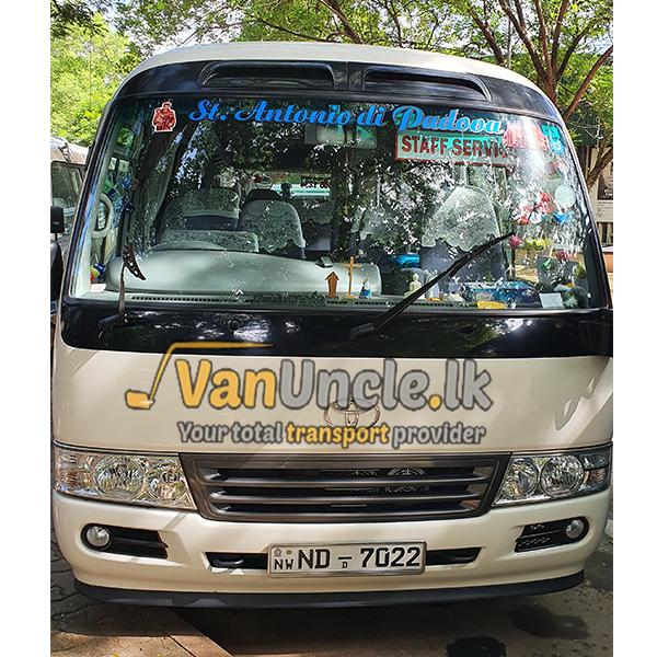 Office Staff Transport from Marawila to Kollupitiya