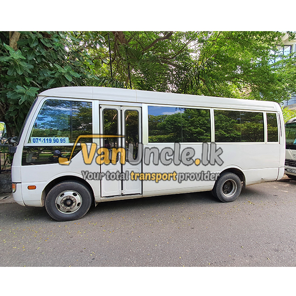 Staff Transport from Eldeniya to Colombo
