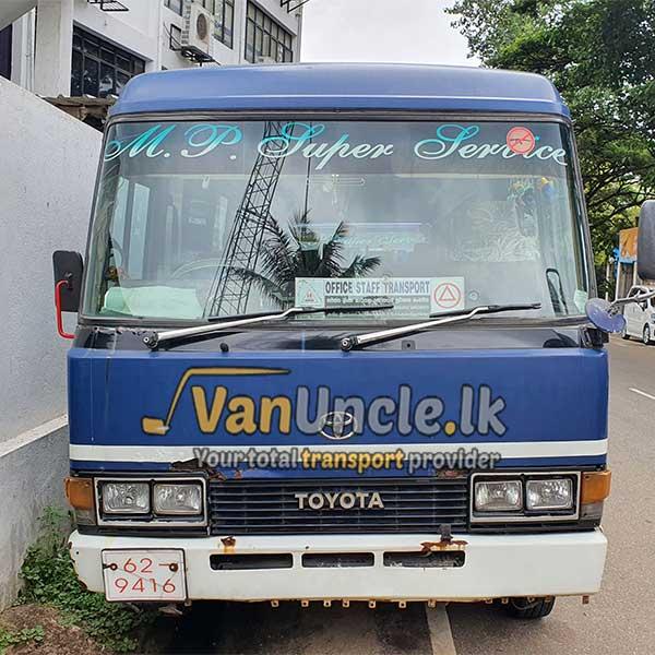 Staff Transport from Kudamaduwa to Nawam Mawatha