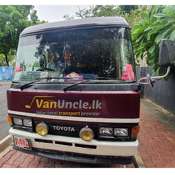 Staff Transport from Kirindiwela to Bambalapitiya