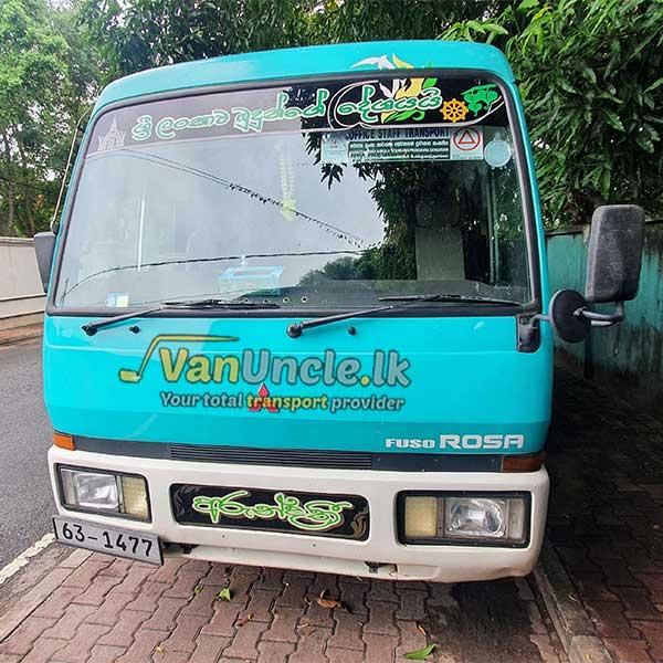 Office Transport from Rukmalgama to Townhall