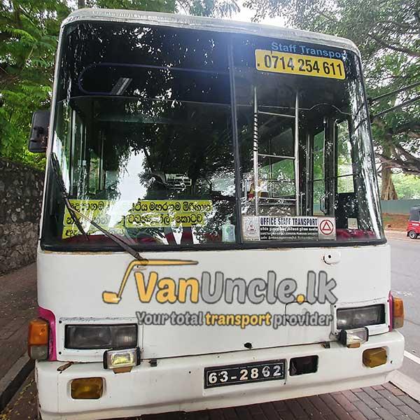 Office Transport from Depanama to Nawammawatha