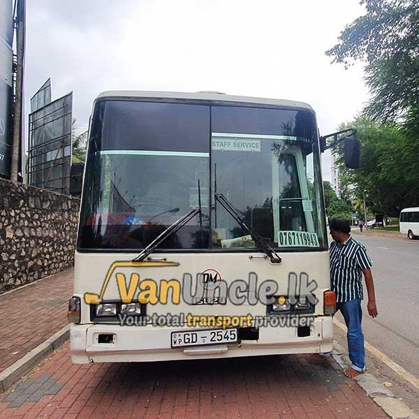 Office Transport from Mahabellana to Narahenpita