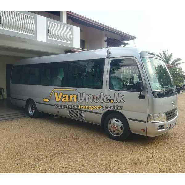 Staff Transport from Olaboduwa to Slave Island