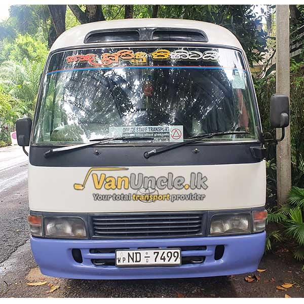 Office Transport from Kirindiwela to Torrington