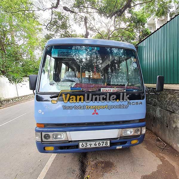 Office Transport from Minuwangoda to Nawala