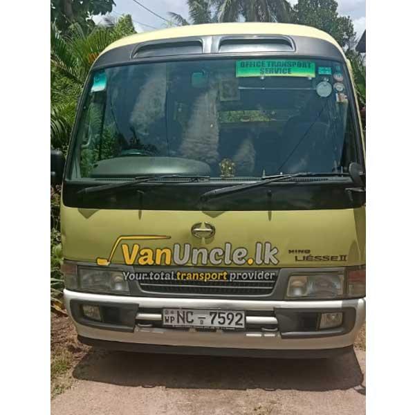 Office Transport from Kiribathgoda to Thimbirigasyaya