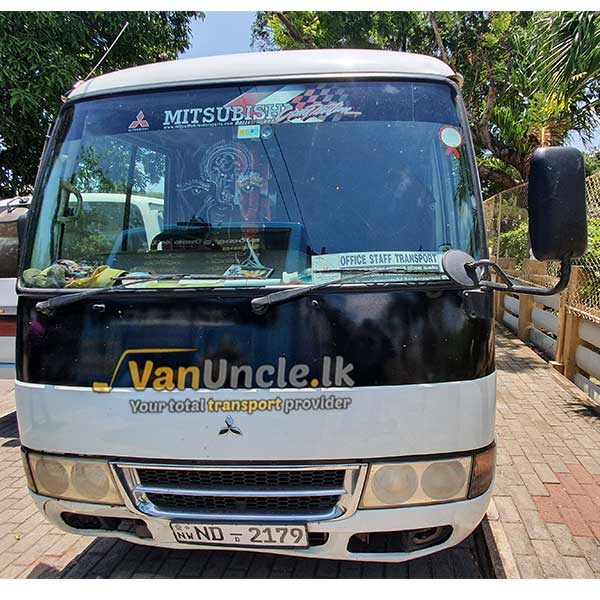 Staff Office Transport Service from Bingiriya to Borella