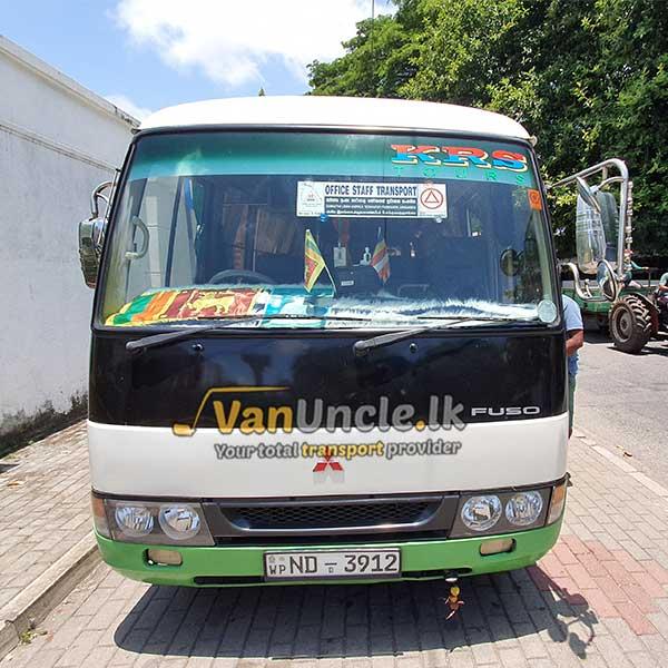 Office Transport from Pasyala to Kirulapone