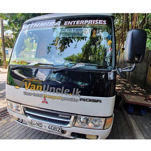 Staff Office Transport Service from Nittambuwa to Colombo