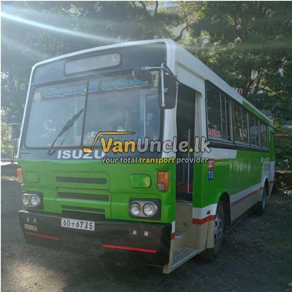 Office Transport from Habarakada to Fort