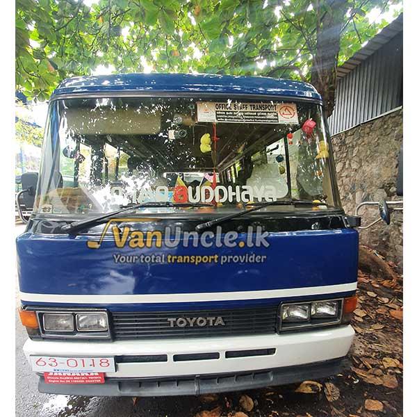 Office Transport from Enderamulla to Torrington