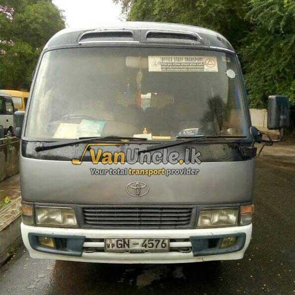 Office Transport from Dambara to Maradana