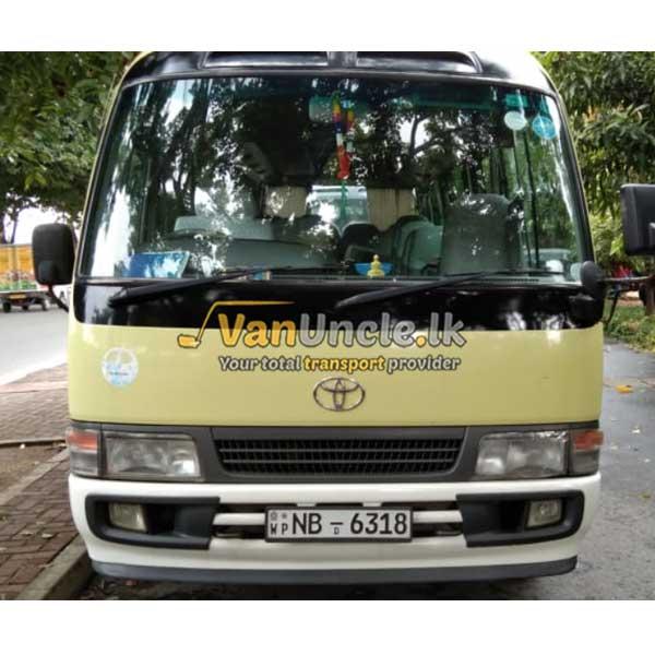 Office Transport from Horana to Rajagiriya