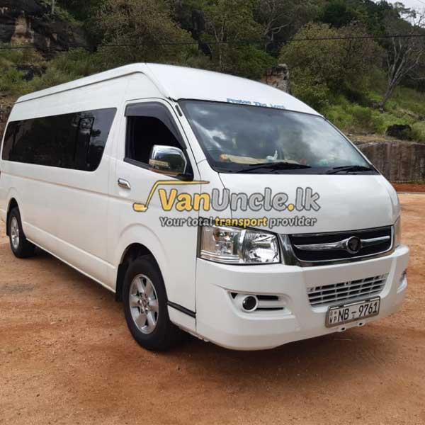 Office Transport from Kandy to Nuwara Eliya