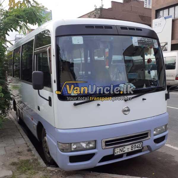 Office Transport from Gorakapitiya to Townhall