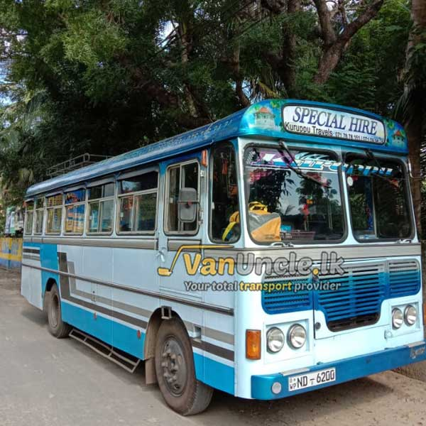 Office Transport from Kaluthara to Battawamulla