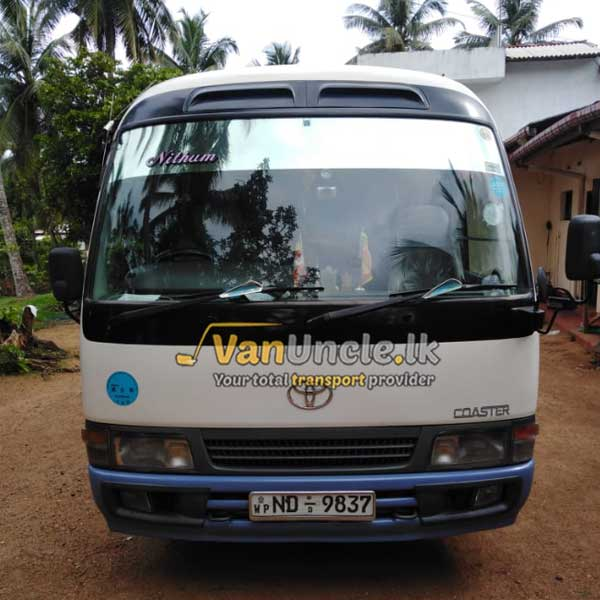 Special Hires Kiridiwela to Colombo
