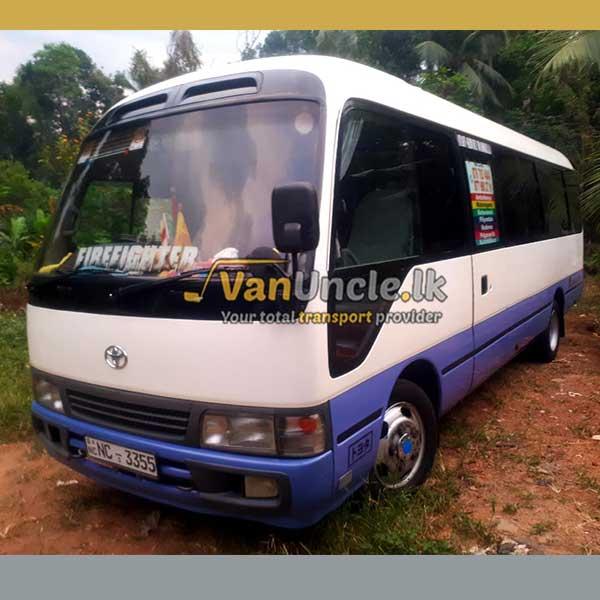 Office Transport Service from Welmilla to Maradana