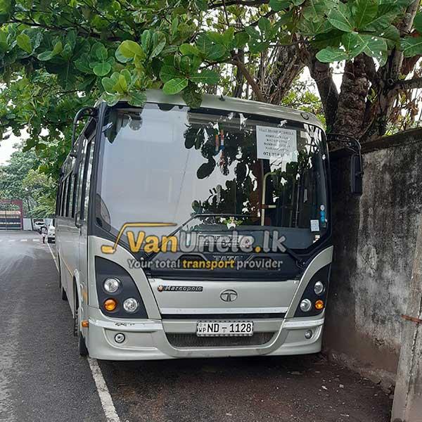 Staff Office Transport Service from Kirillawala to Narahenpita