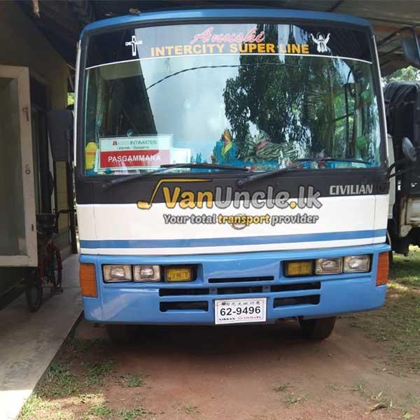 School Service from Weliweriya to Colombo