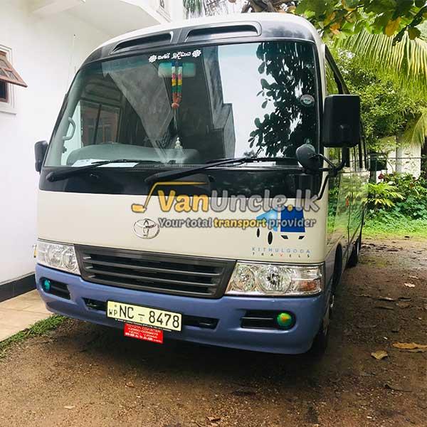 Staff Service from Wadduwa to Rajagiriya