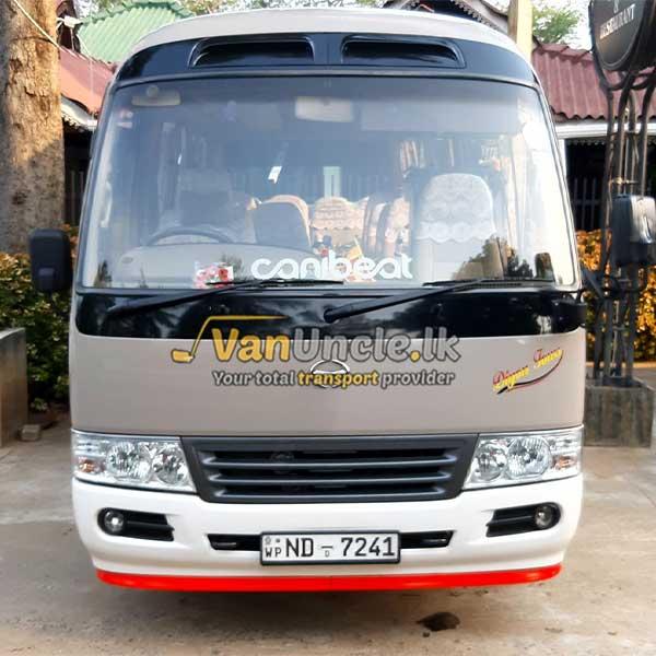 Staff Office Transport Service from Podi Induruwa to Narahenpita