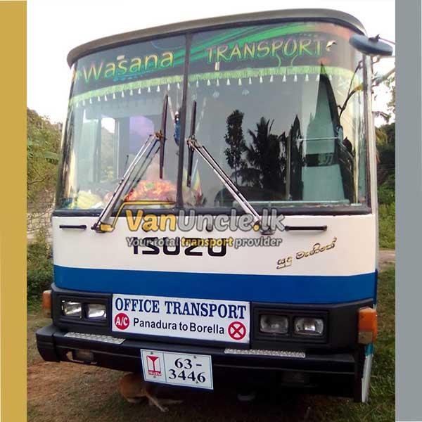 Office Staff Transport Service from Alubomulla to Narahenpita