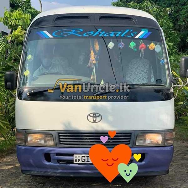 Staff Office Transport Service from Himbutana to Nawam Mawatha