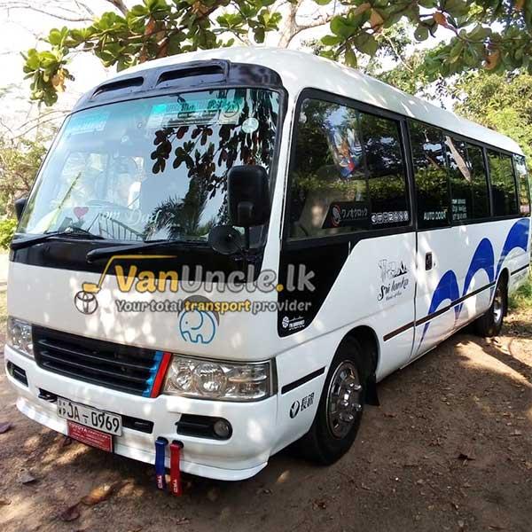 Office Transport Service from Nittambuwa to Rajagiriya