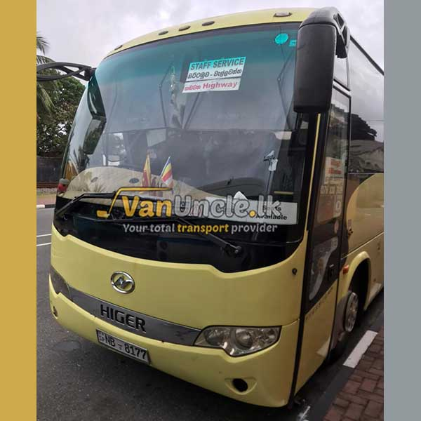 Office Transport Service from Ranpokunugama to Dehiwala