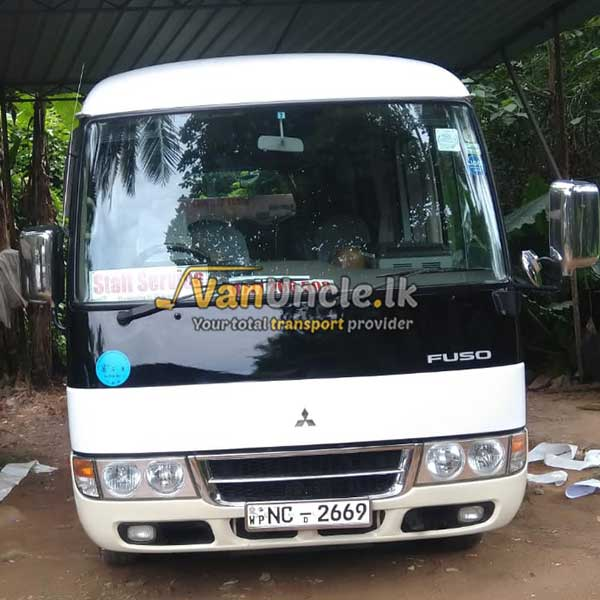Office Transport Service from Indigolla to Rajagiriya