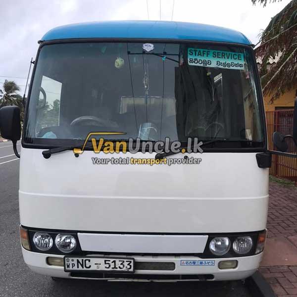 Office Transport Service from Ranpokunugama to Wellawaththa