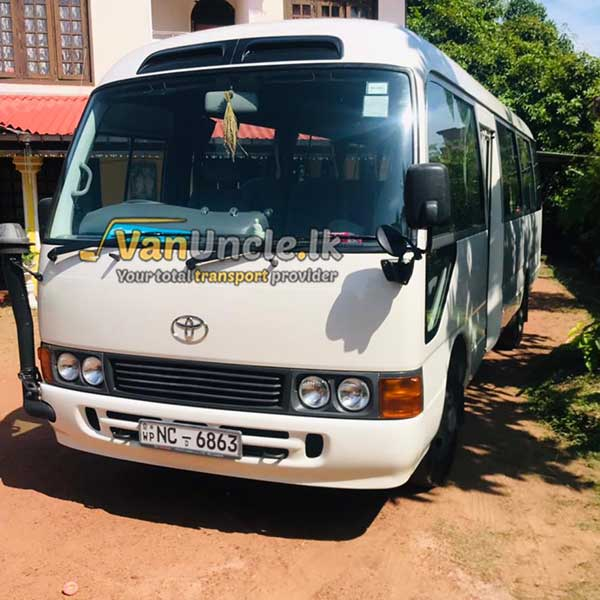Office Transport from Aththanagalla to Peoples Bank