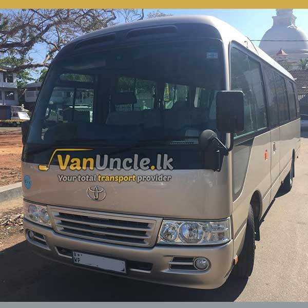 Staff Office Transport Service from Wadduwa to Jawatte